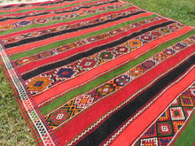 "Large Turkish kilim rug ""Sivas"" 7x12 - bosphorusrugs  - 6"
