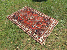 Semi Antique Tribal Persian Area Rug