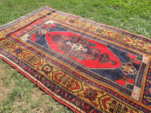 Vintage Authentic Anatolian Area Rug