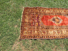 1940's Shinny Wool Turkish Carpet