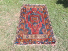 ON SALE Authentic Turkish Area Rug 4x6 ft.