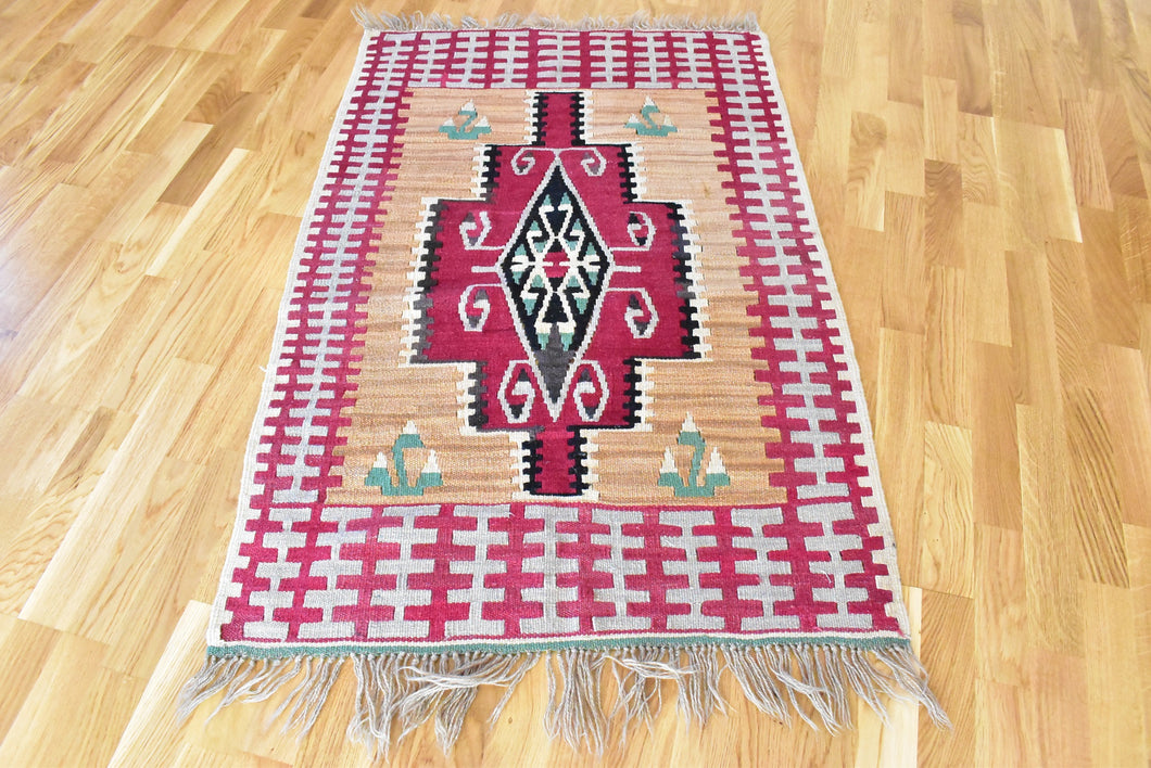 Turkish Kilim Rug 2,6