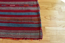 "Anatolian Striped Kilim 4,9""x 7,2"""