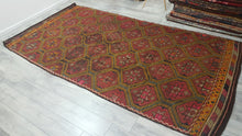 Eclectic Decor Turkish Kilim rug