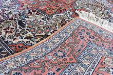 "Kashmir Silk Carpet 4,1"" x 6"""