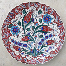 30 cm Hand Painted Ceramic Dinner Plate PL-3018
