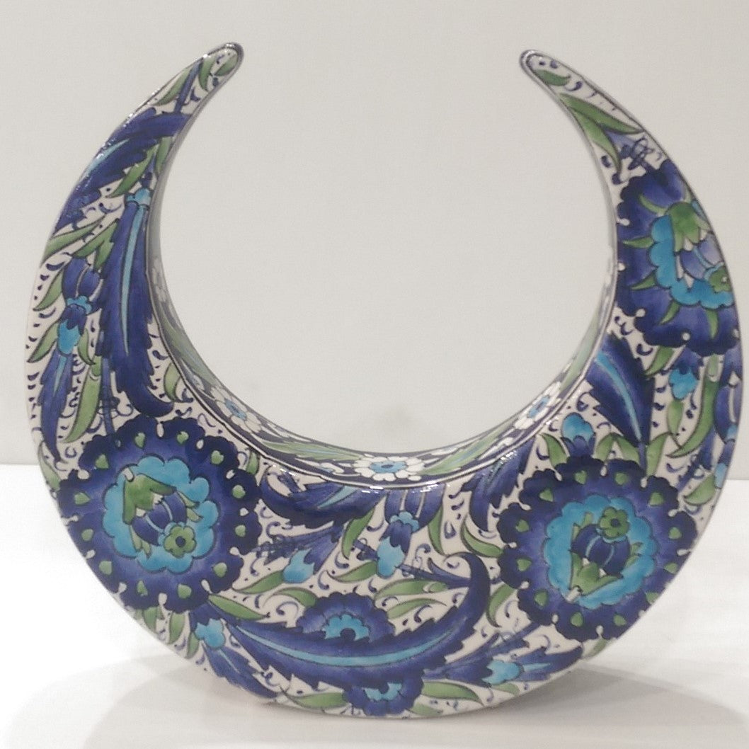 Ceramic Decorative Crescent SCR-005