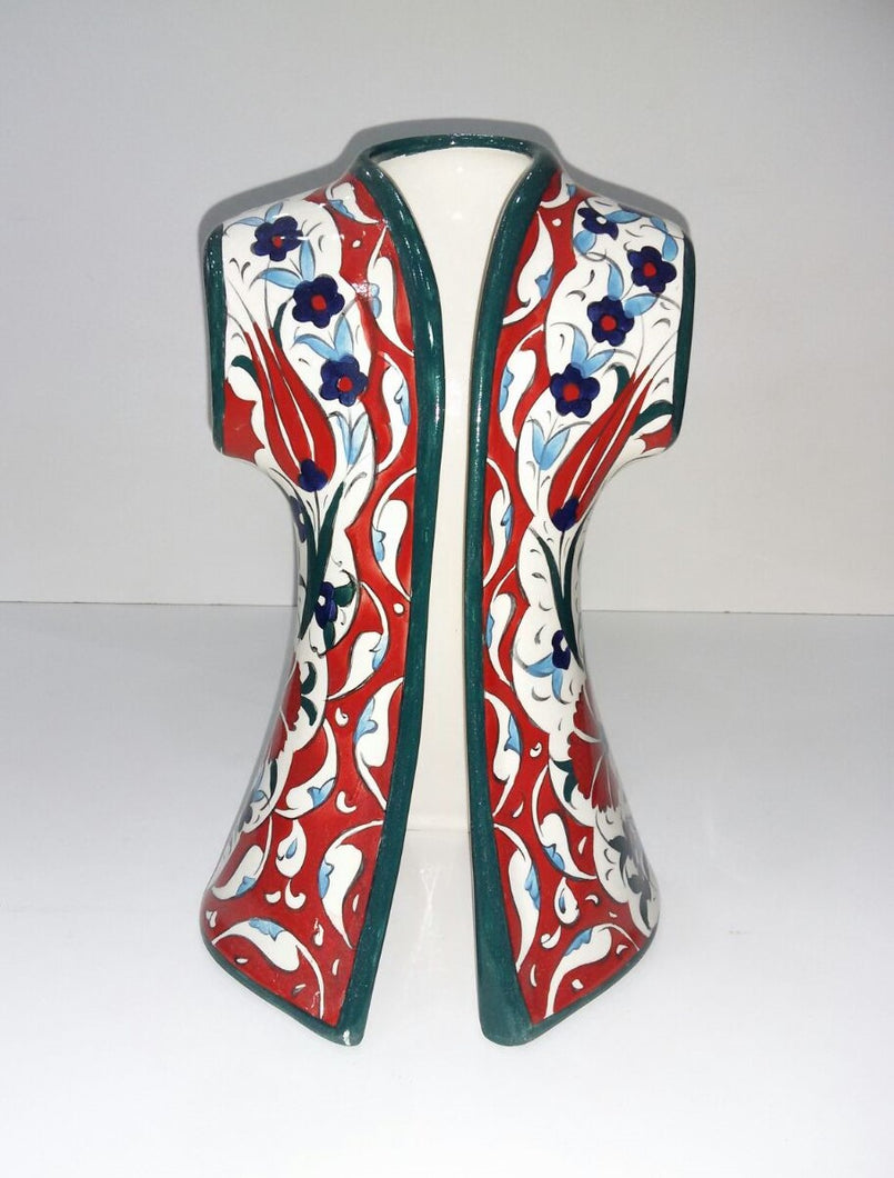 26 cm Ceramic Hand Painted Caftan SCF-007