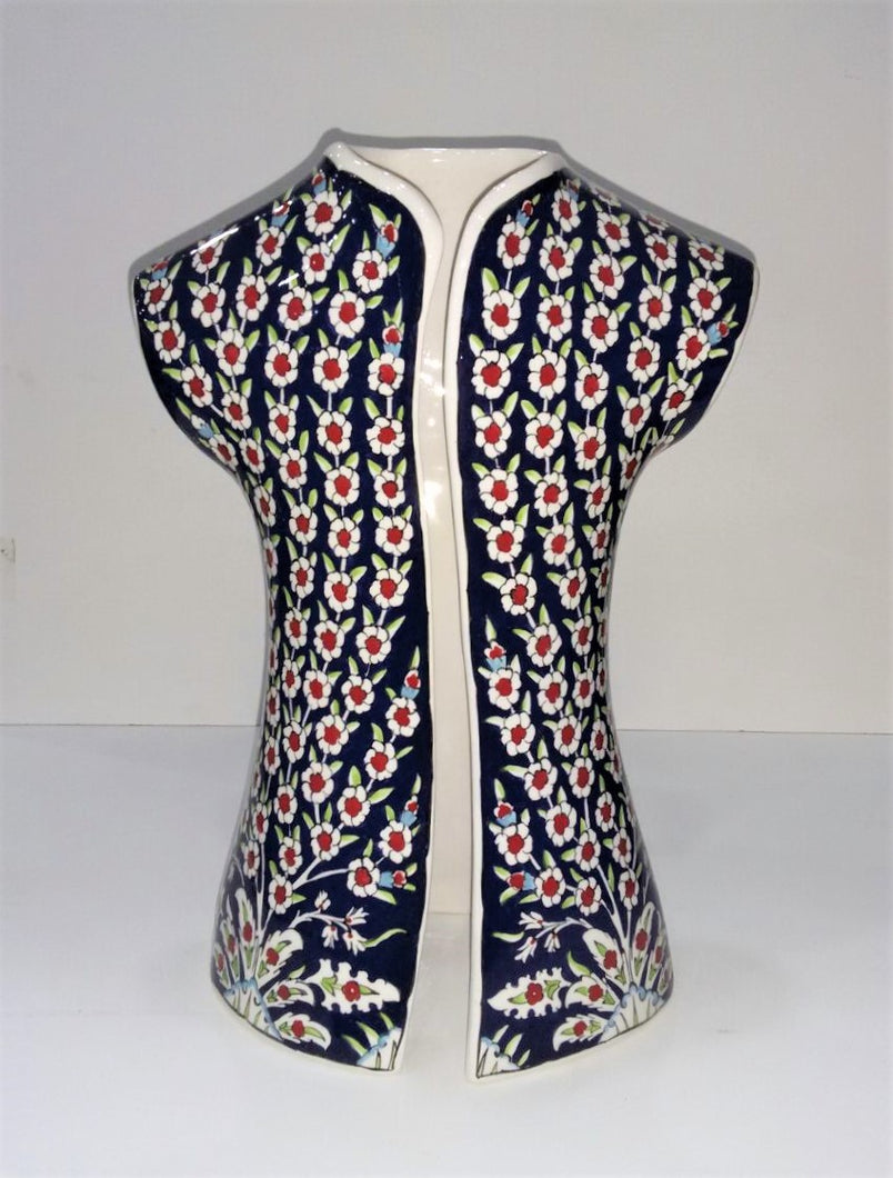 26 cm Ceramic Hand Painted Caftan SCF-009