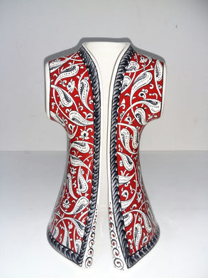 26 cm Ceramic Hand Painted Caftan SCF-002