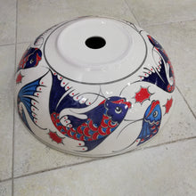 Hand Painted Ceramic Sink SS-026