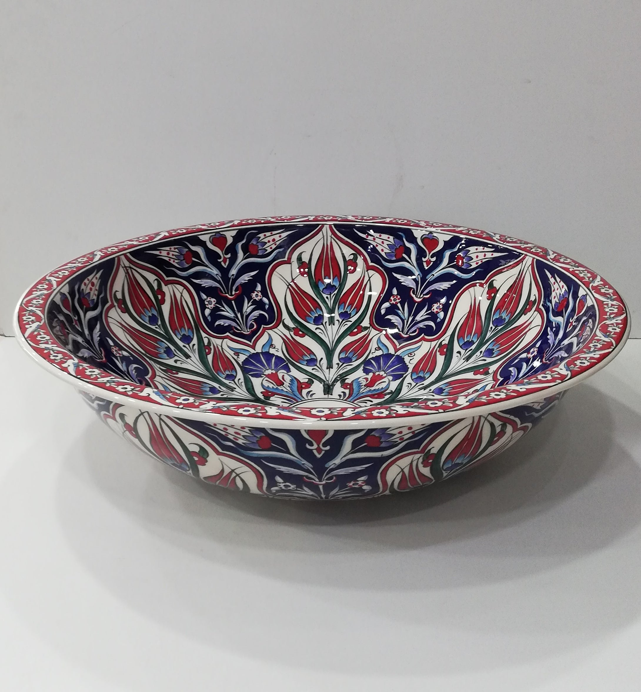 Hand Painted Ceramic Sink SS-029