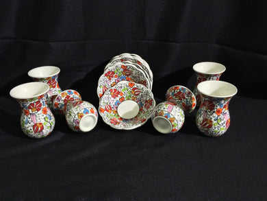 Ceramic Turkish Tea Set 001