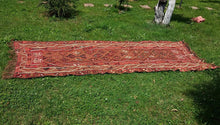 "Turkish ""Kars"" kilim rug 5x12 - bosphorusrugs  - 1"