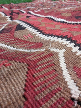 "Turkish ""Kars"" kilim rug 5x12 - bosphorusrugs  - 6"