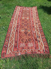 "Turkish ""Kars"" kilim rug 5x12 - bosphorusrugs  - 3"