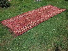 "Turkish ""Kars"" kilim rug 5x12 - bosphorusrugs  - 2"