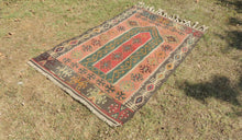 Lovely prayer kilim rug - bosphorusrugs  - 1