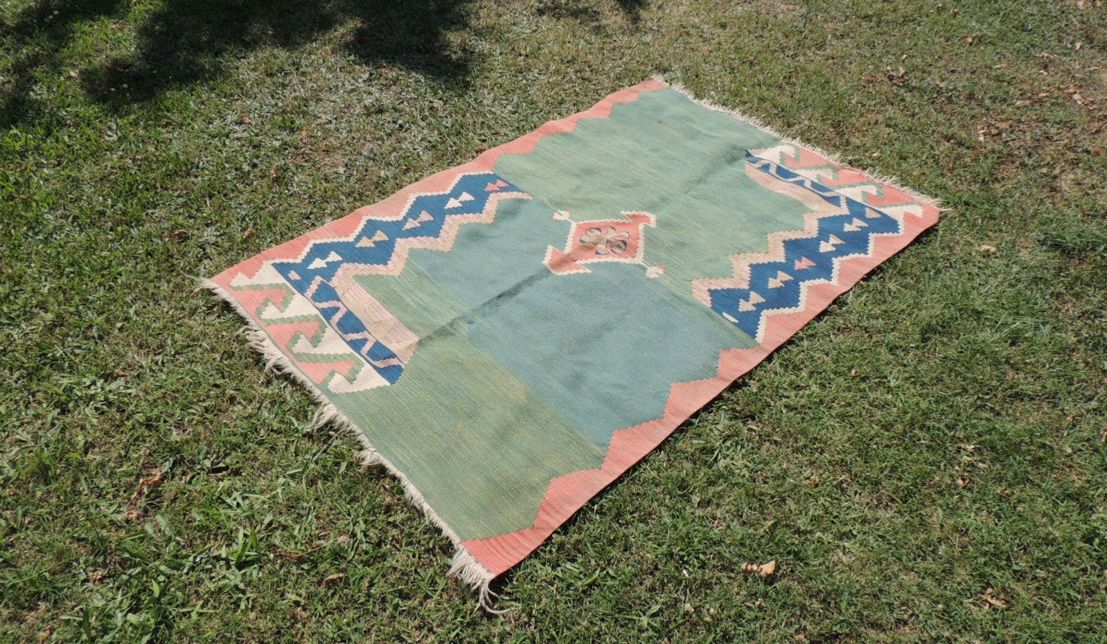 Modern art Turkish kilim rug - bosphorusrugs  - 1