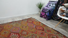 Natural Turkish Kilim Rug Mountain Nomads Weaving Kilim