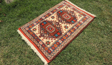 Vintage Wool Turkish Carpet