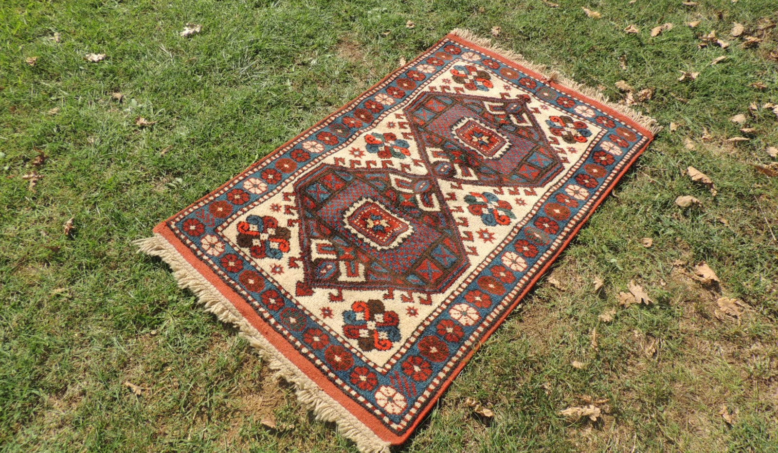 Hand Knotted Wool Turkish Area Rug - bosphorusrugs  - 1