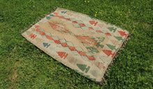 "Turkish kilim rug ""Oushak"" - bosphorusrugs  - 1"