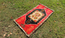 Red and Black Turkish Area Rug ON SALE - bosphorusrugs  - 1