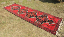 Black and Red Turkish Carpet