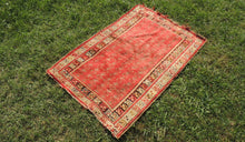 Red Turkish Area Rug ON SALE - bosphorusrugs  - 1