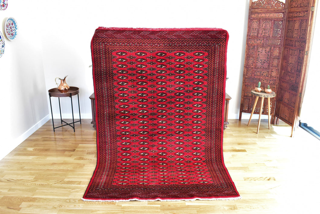 Fine Turkoman Carpet 4,3