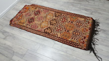 Semi Antique Turkish Kilim Rugs Primitive and Beautiful Rugs