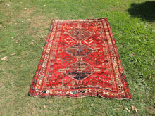 5x7 Antique Persian area rug from Shiraz