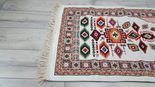 Turkish Tapestry Rug with Kilim Motifs Prayer Rug