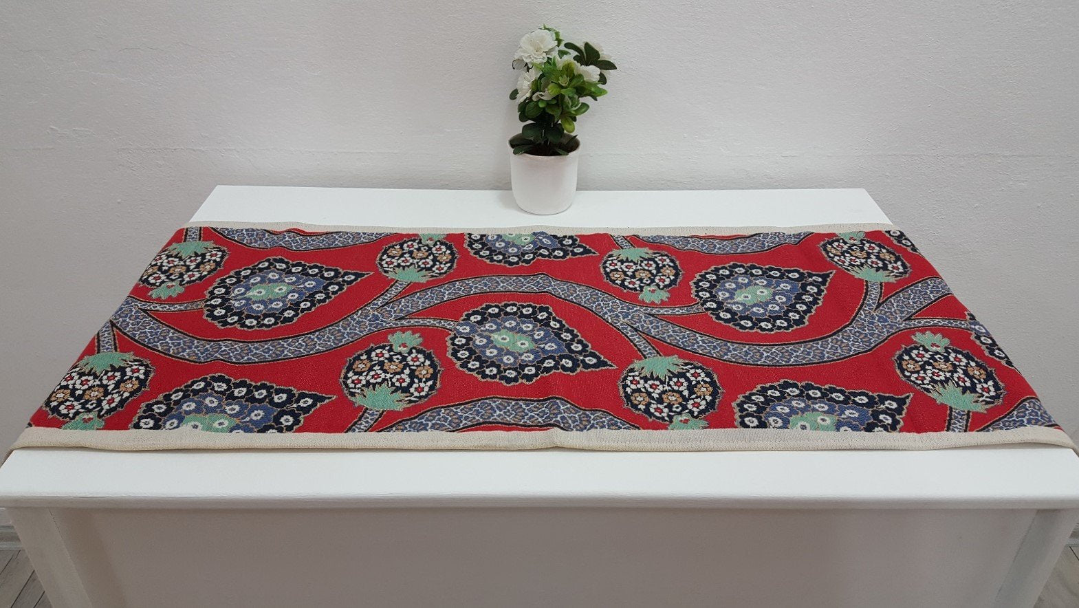 Turkish Exotic Designed Oriental Decor Runner