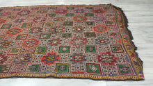 Turkish Kilim Rug Octagram Motifs