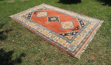 70's Vintage Turkish area rug - bosphorusrugs  - 1