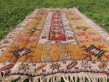 "Brown Turkish ""Milas"" rug - bosphorusrugs  - 2"