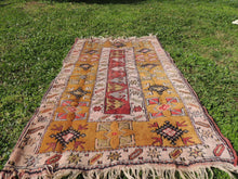 "Brown Turkish ""Milas"" rug - bosphorusrugs  - 3"