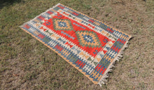 Vintage Turkish Kayseri kilim rug - bosphorusrugs  - 1