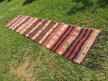 Turkish runner kilim Malatya - bosphorusrugs  - 4