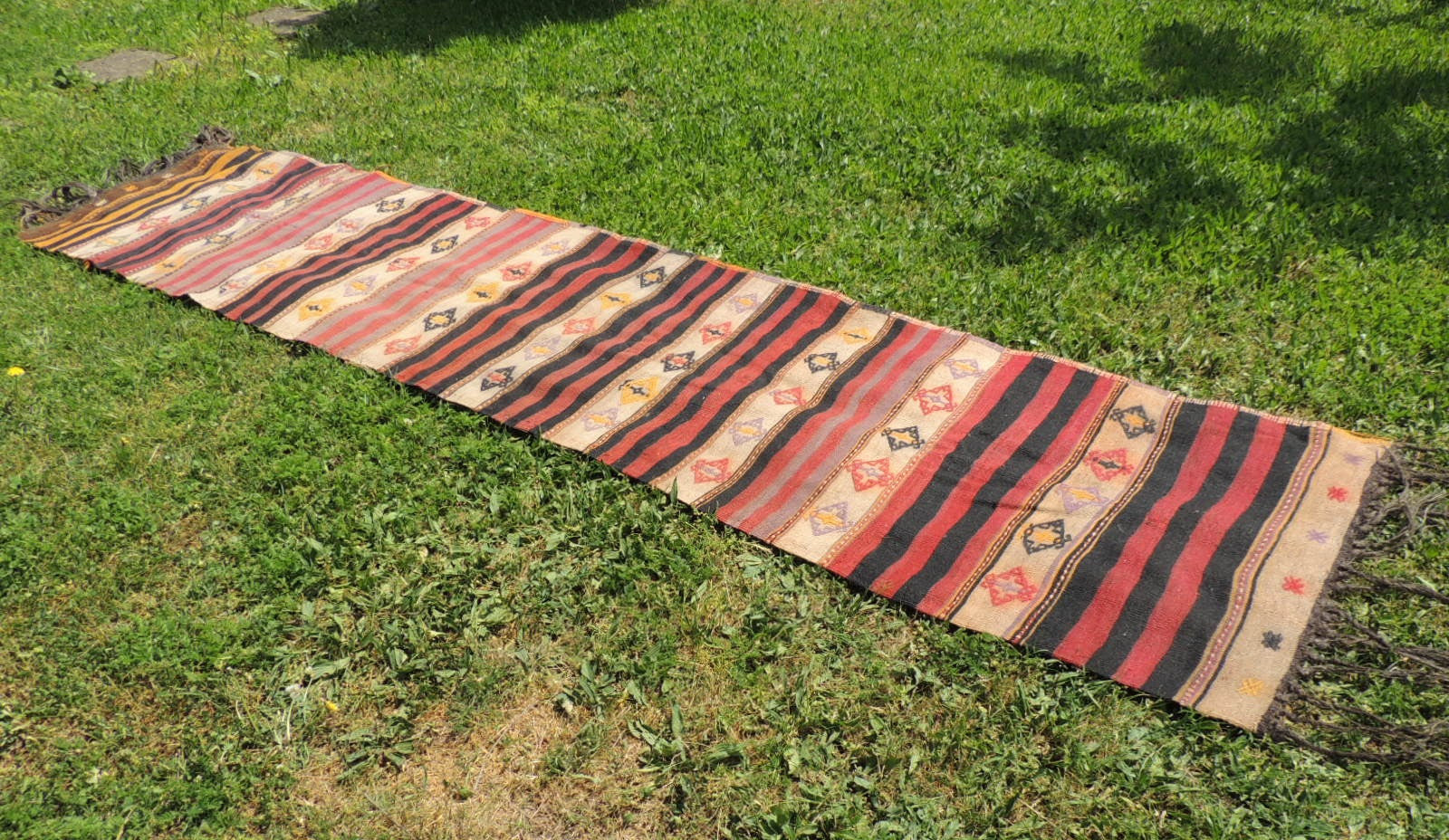 Turkish runner kilim Malatya - bosphorusrugs  - 1