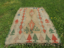 "Turkish kilim rug ""Oushak"" - bosphorusrugs  - 6"