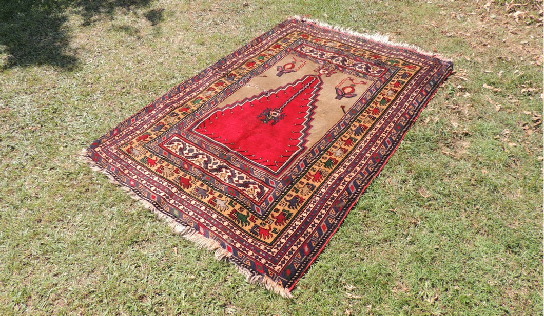 40's Anatolian prayer rug - bosphorusrugs  - 1