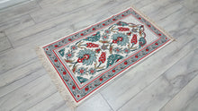 Turkish Prayer Rug with Ceramic Tile Motifs