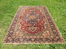 Medallion Turkish Kayseri area rug - bosphorusrugs  - 5