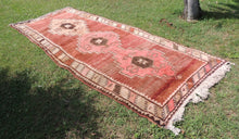 1978 Dated Turkish runner rug