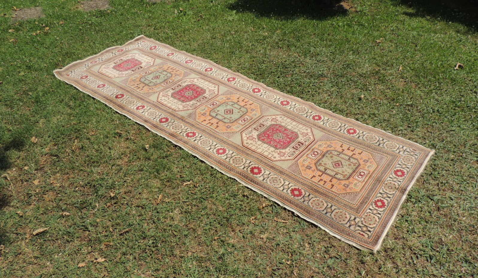Turkish runner rug Kayseri Kazakh style - bosphorusrugs  - 1