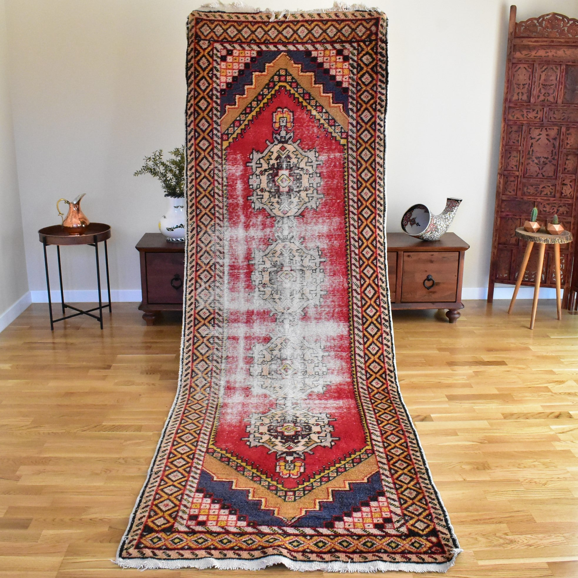 Turkish Runner rug 3,3