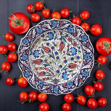 30 cm Hand Painted Ceramic Dinner Plate PL-3013